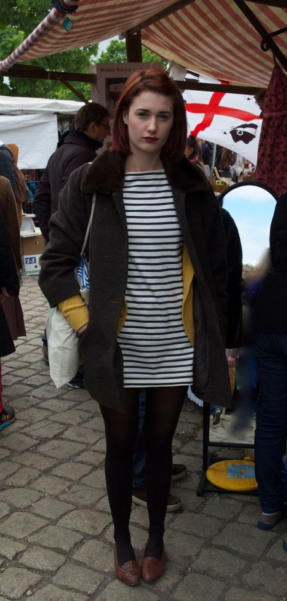 Street Style - Stripes at Flea Market...