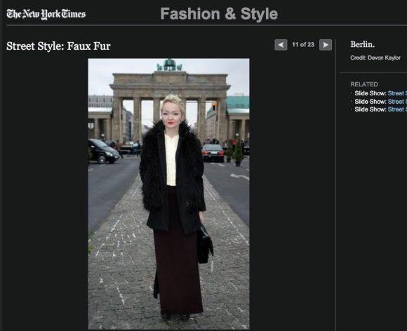 NYT Faux Fur pix 1