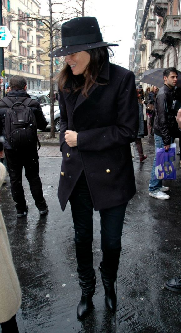 Emmanuelle Alt - Milan Fashion Week F/W 2013
