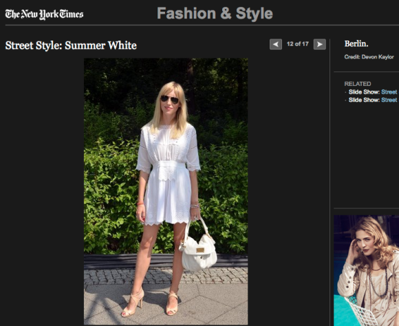 FCP in the New York Times Street Style: Summer Whites #2