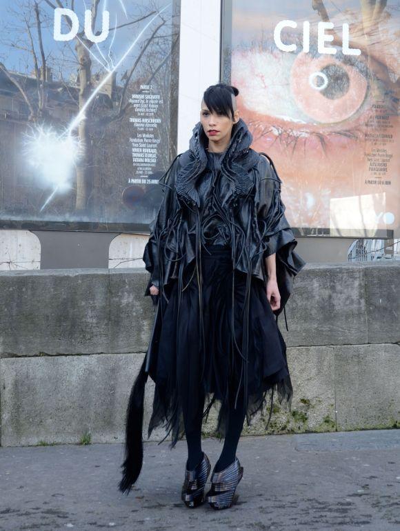 Lily Gatins, Palias De Tokyo - Paris Fashion Week AW 2014