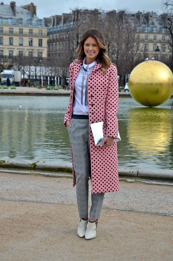 Dots Abound - Tuileries, Paris Fashion Week AW 2014