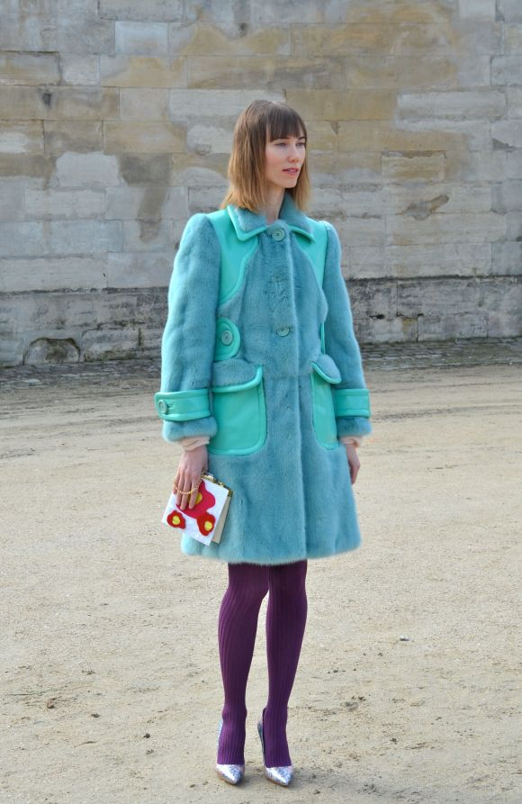 Miu Miu Brights - Paris Fashion Week AW 2014